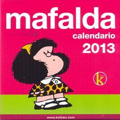 CALENDARIO TACO MAFALDA 2013   Comprar libro 8437011365071