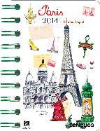 agenda 2014 paris 8x13 cm-4002725765956