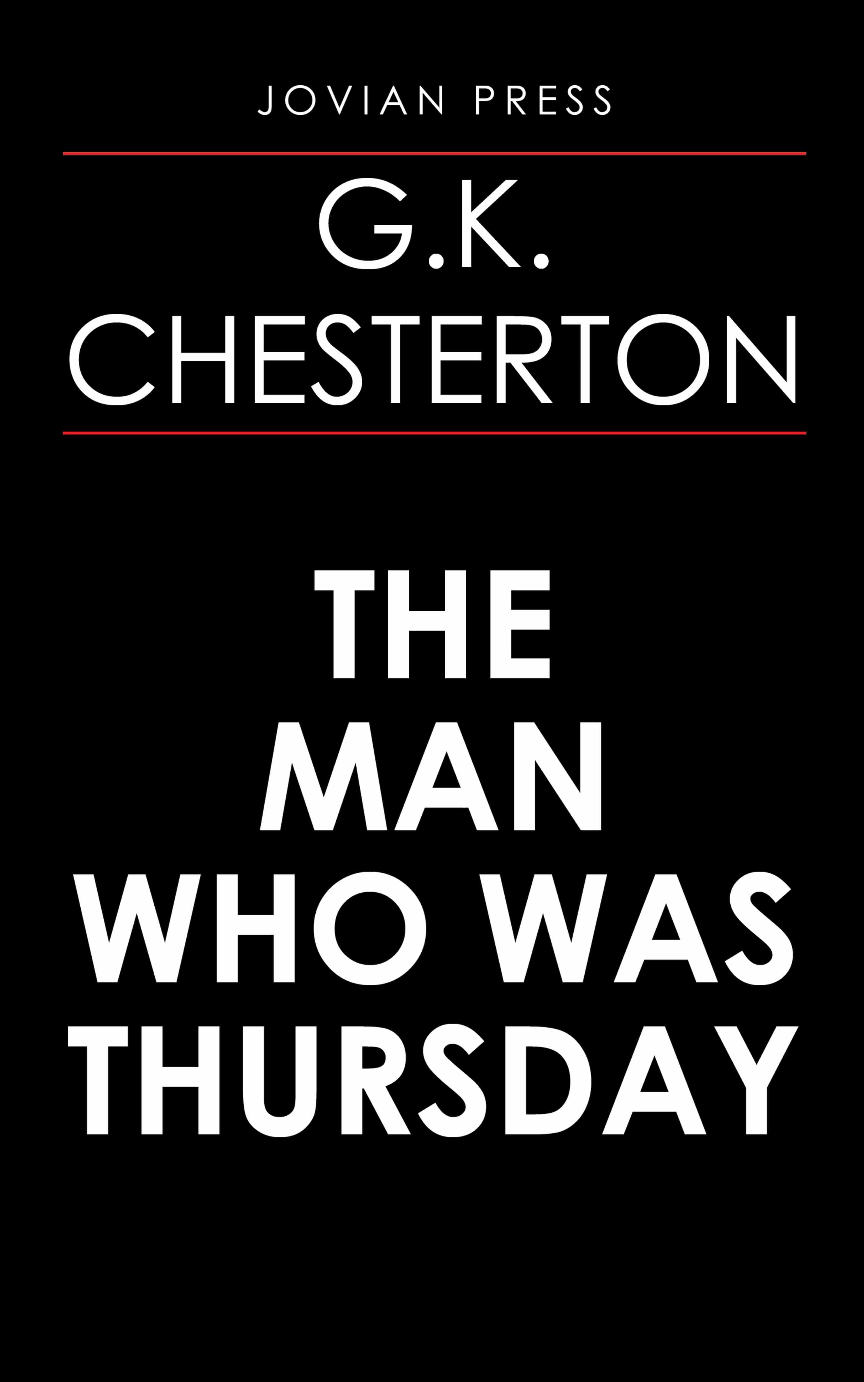 The Man Who Was Thursday   por G. K. Chesterton