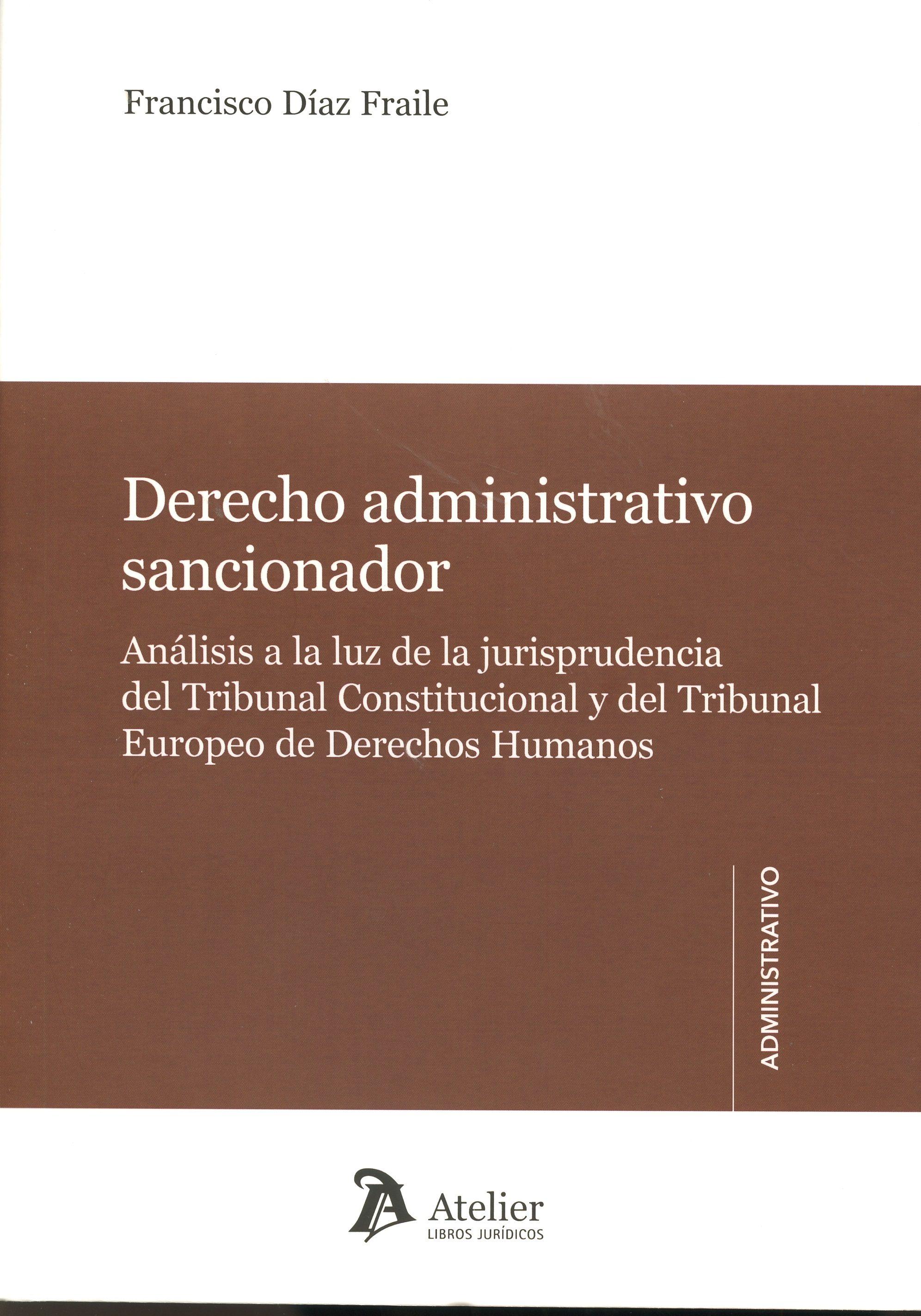 derecho administrativo sancionador-francisco díaz fraile-9788416652105