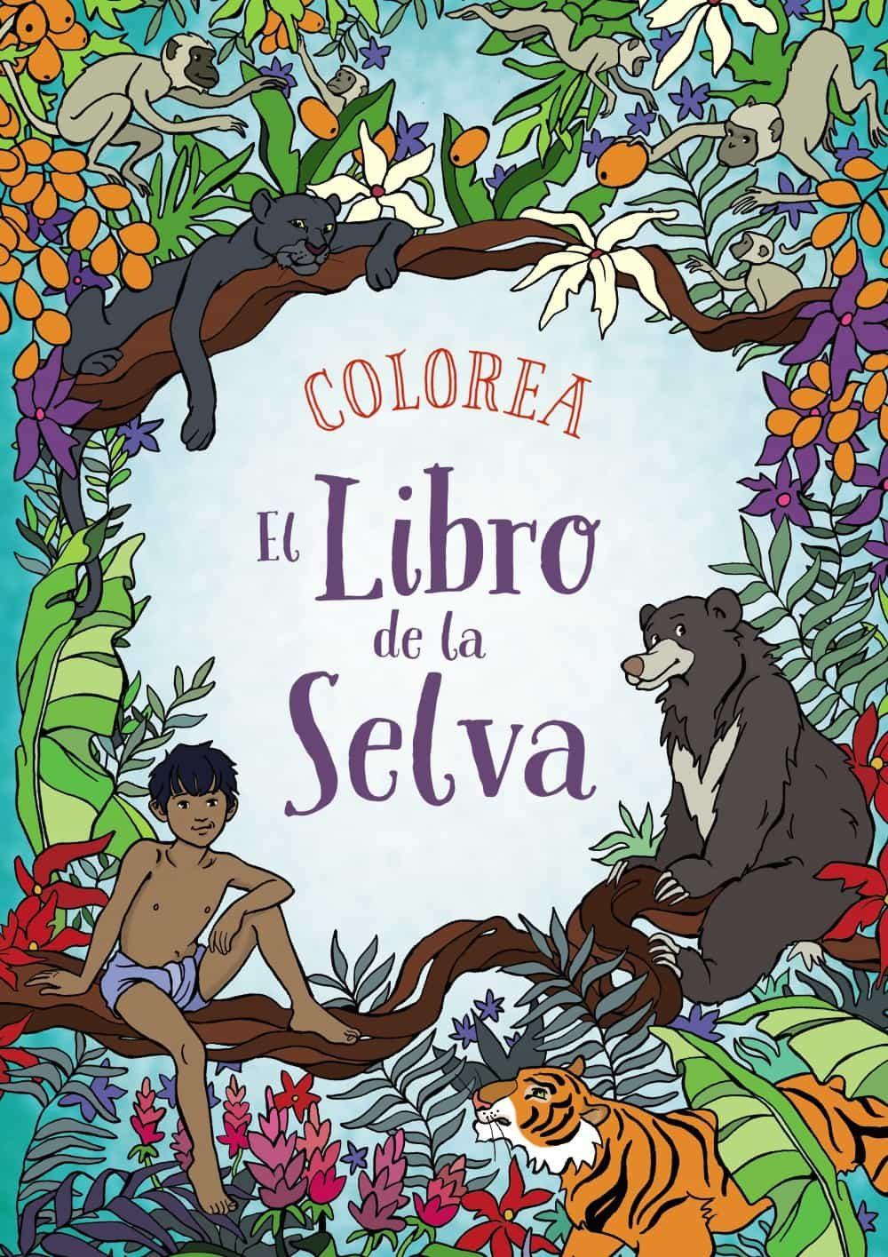 COLOREA EL LIBRO DE LA SELVA | ANN KRONHEIMER | Comprar libro ...