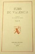 Furs De Valencia (volum X) Extravagants I por Vv.aa. epub