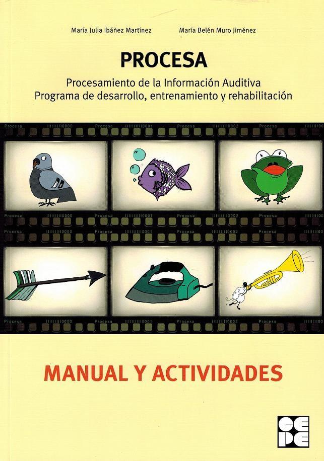 procesa procesam inf auditiva + cd-maria julia ibanez martinez-maria belen muro jimenez-9788478695805