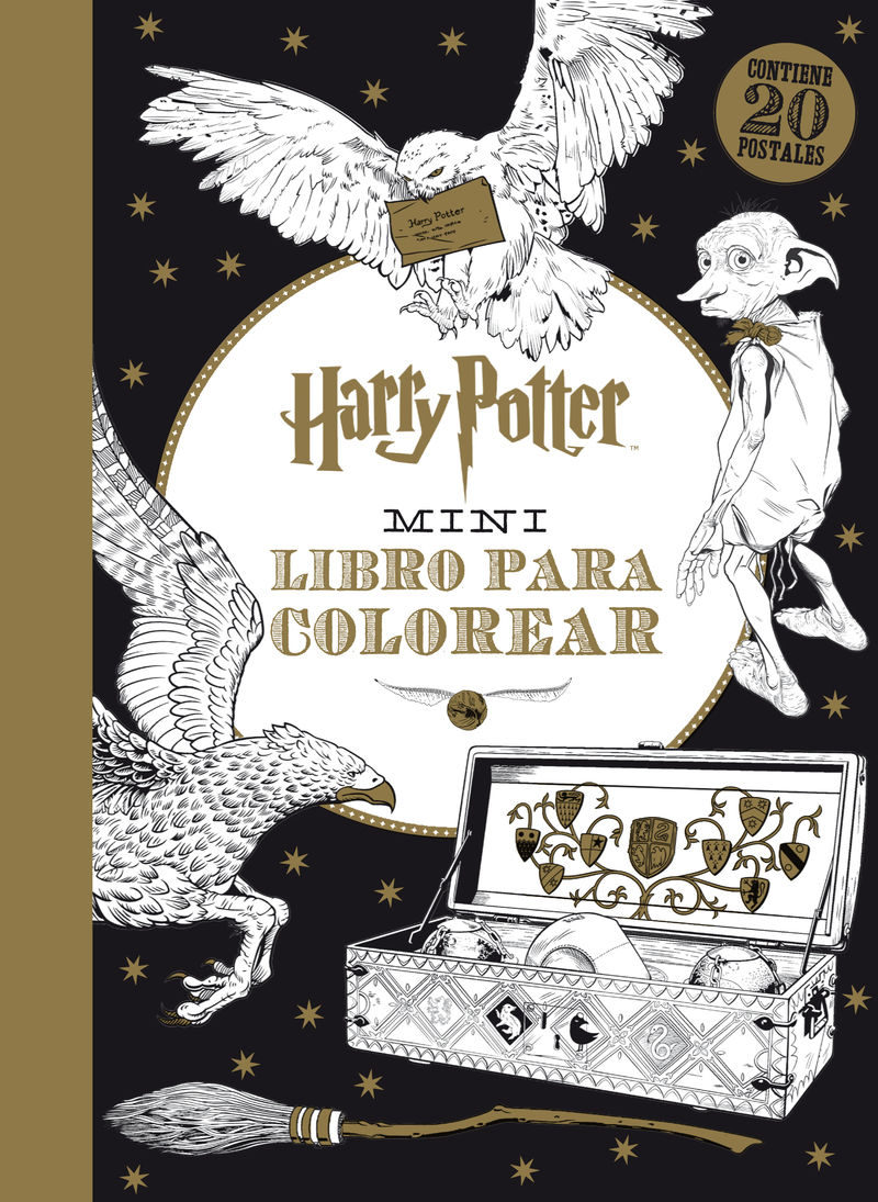 HARRY POTTER MINI LIBRO PARA COLOREAR | VV.AA. | Comprar libro ...