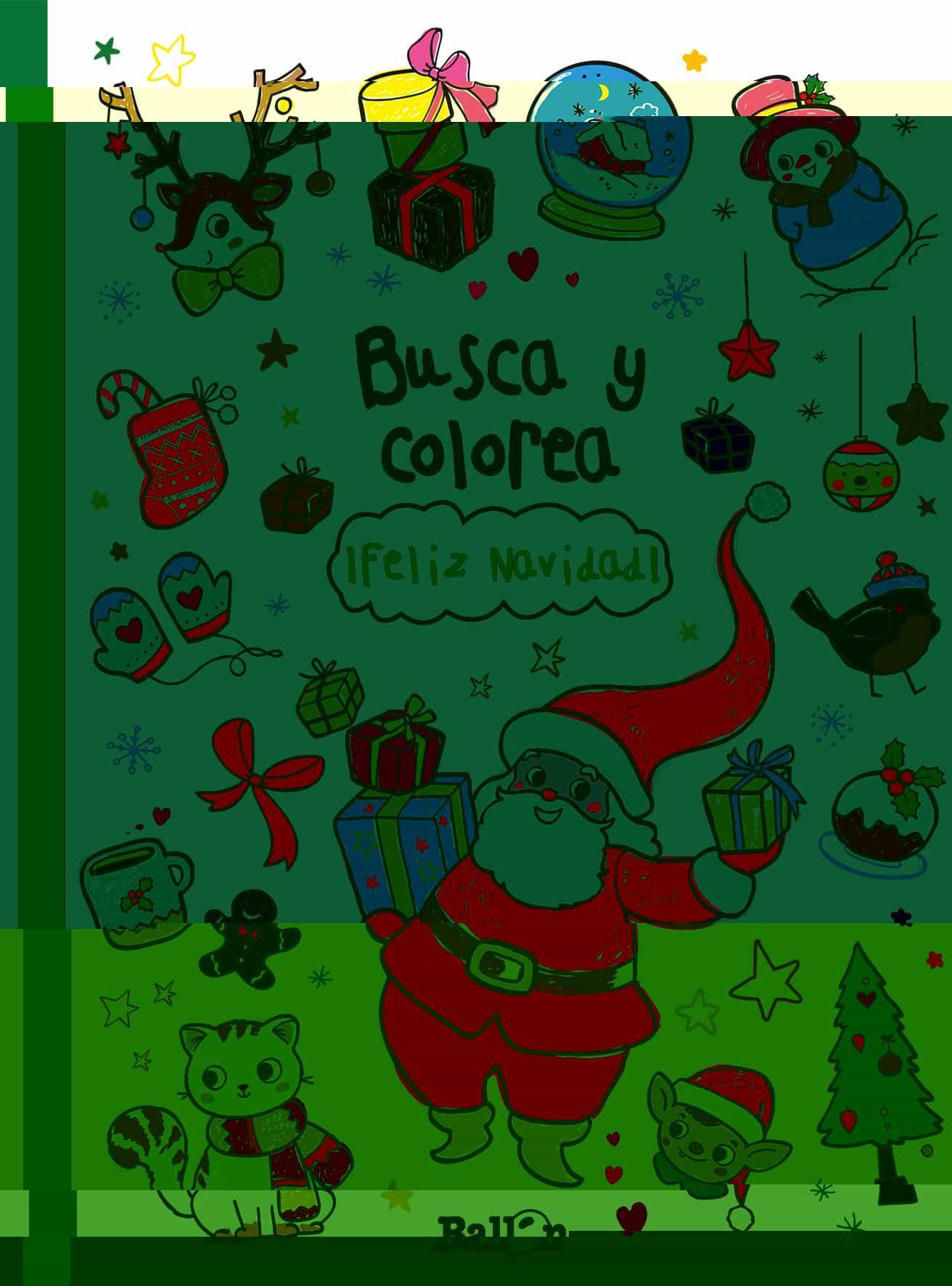 BUSCA Y COLOREA ¡FELIZ NAVIDAD!   VV.AA.   Comprar libro 9789037498905