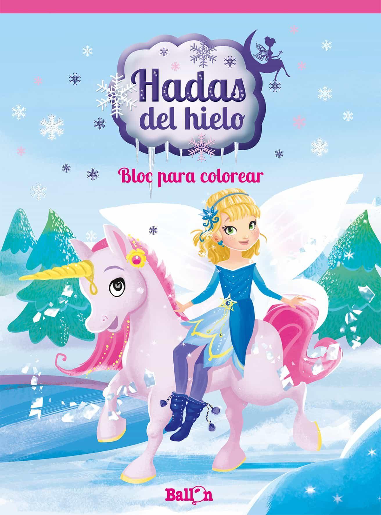 BLOC PARA COLOREAR (HADAS DEL HIELO) | VV.AA. | Comprar libro ...