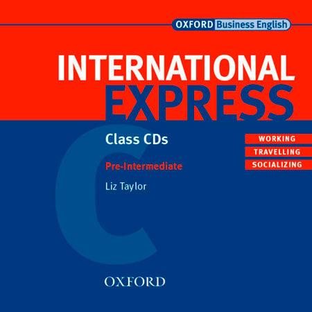 International Express (pre-intermediate) (set 2 Class Cds) por L. Taylor