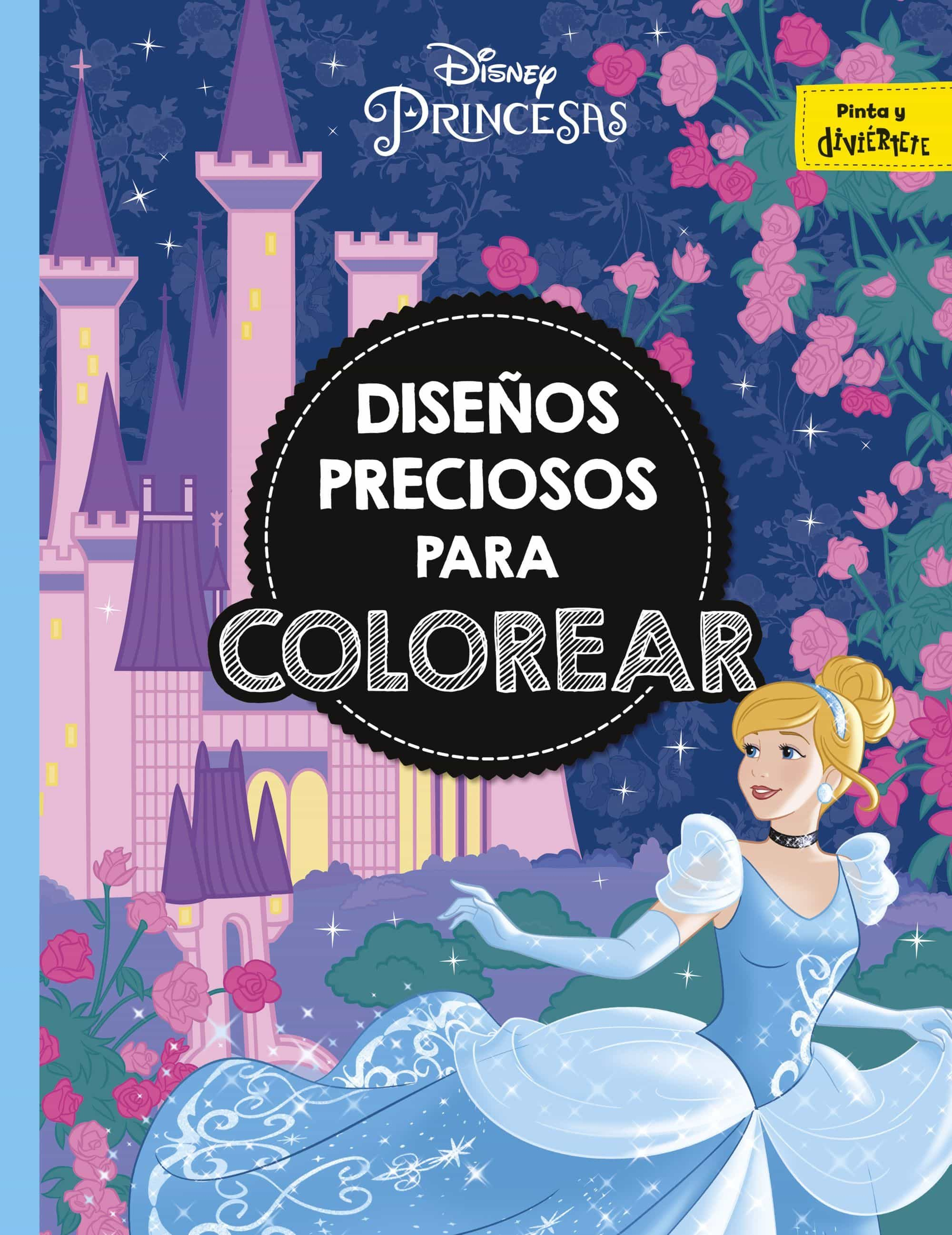 PRINCESAS: DISEÑOS PRECIOSOS PARA COLOREAR | VV.AA. | Comprar libro ...