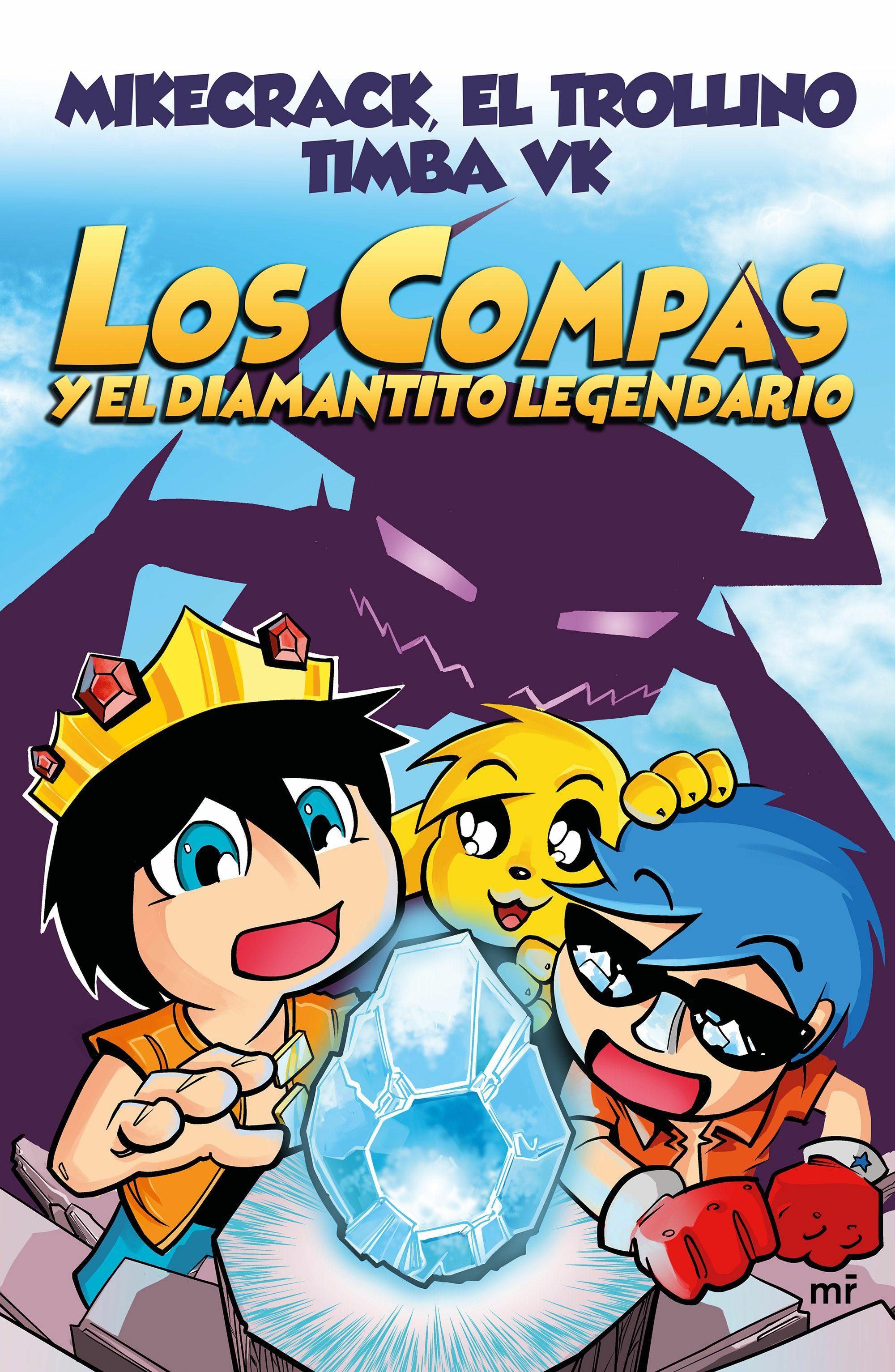 los compas y el diamantito legendario-9788427044715