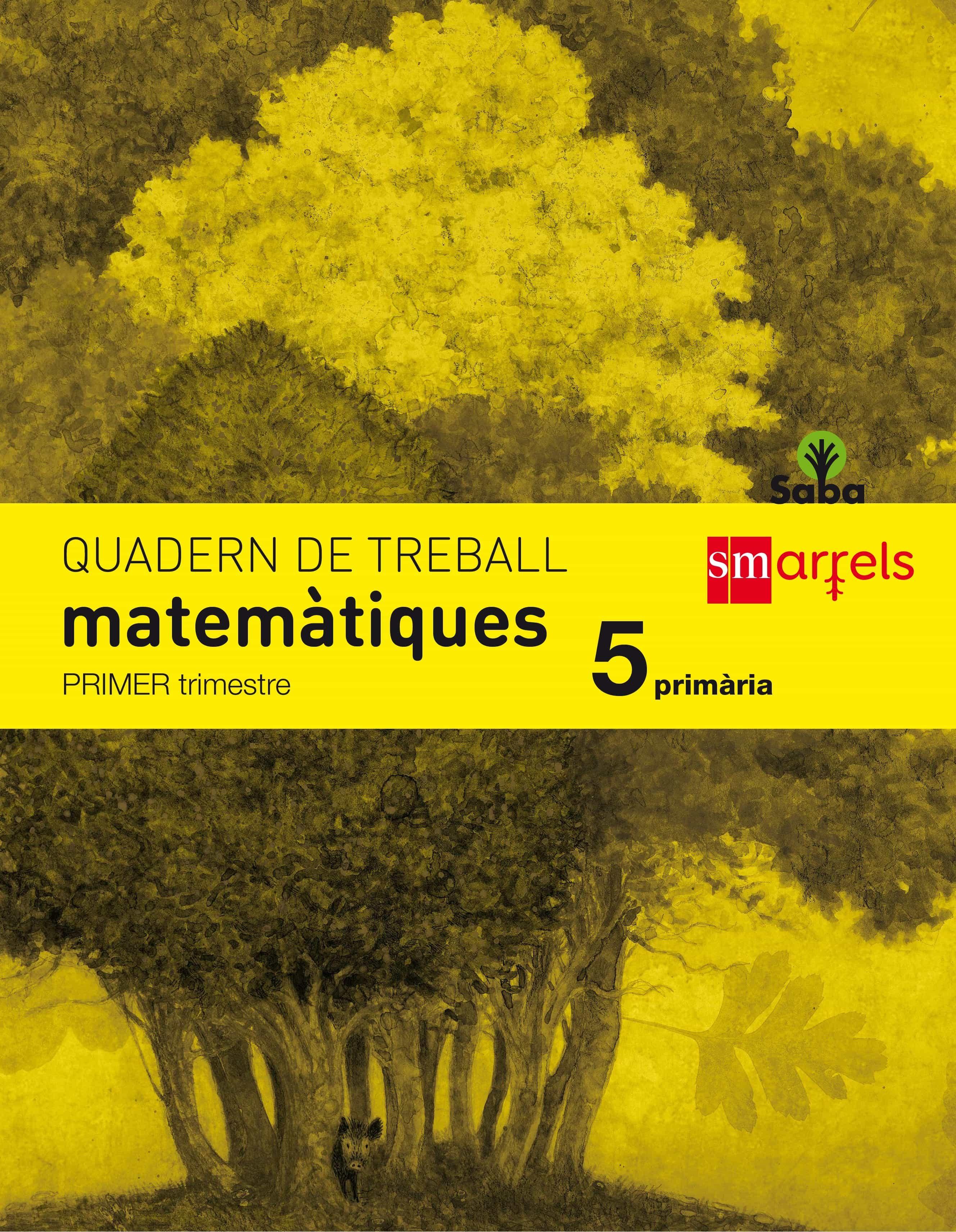 Quadern Matemàtiques 1º Trimestre 5º Primaria Saba Ed 2014 Valenciano por Vv.aa. epub