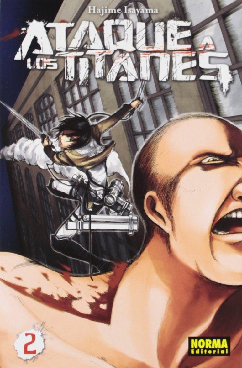 Ataque A Los Titanes 02 por Hajime Isayama