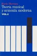 teoria musical y armonia moderna (vol. i)-enric herrera-9788485855315