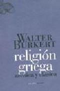 religion griega arcaica y clasica-walter burkert-9788496775015