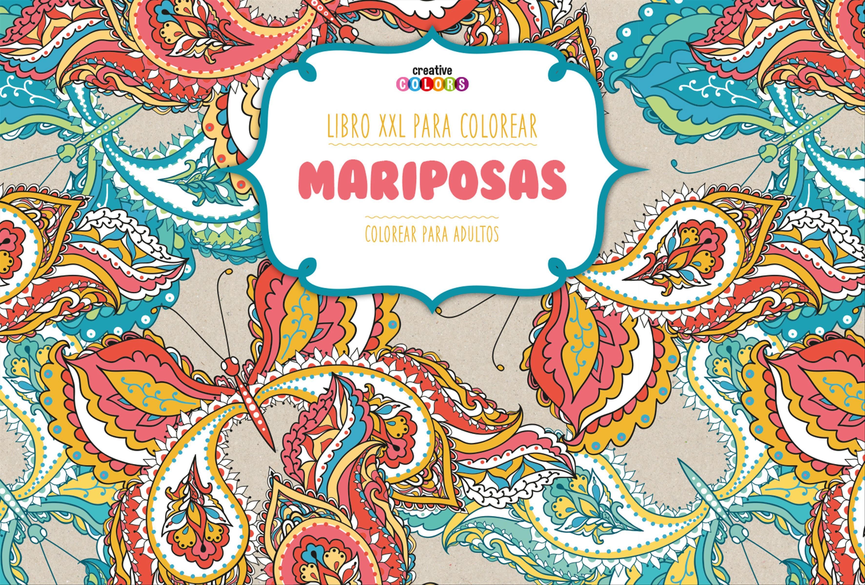 LIBRO XXL PARA COLOREAR: MARIPOSAS | VV.AA. | Comprar libro ...
