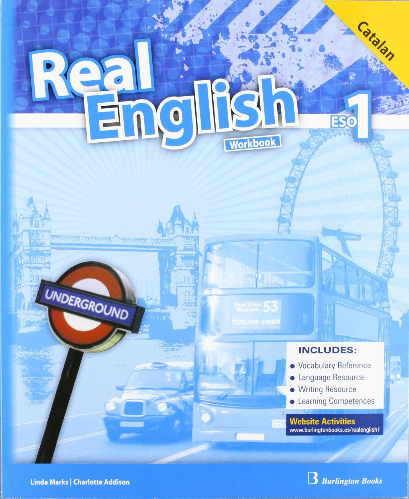 REAL ENGLISH 1º ESO (WORKBOOK + LANGUAGE BUILDER) (ED. CATALAN) | VV ...