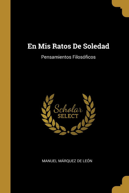 En Mis Ratos De Soledad Descargar PDF Ahora