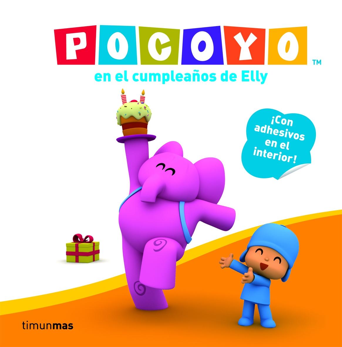 Pocoyo En El Cumpleaños De Elly por Zinkia Gratis