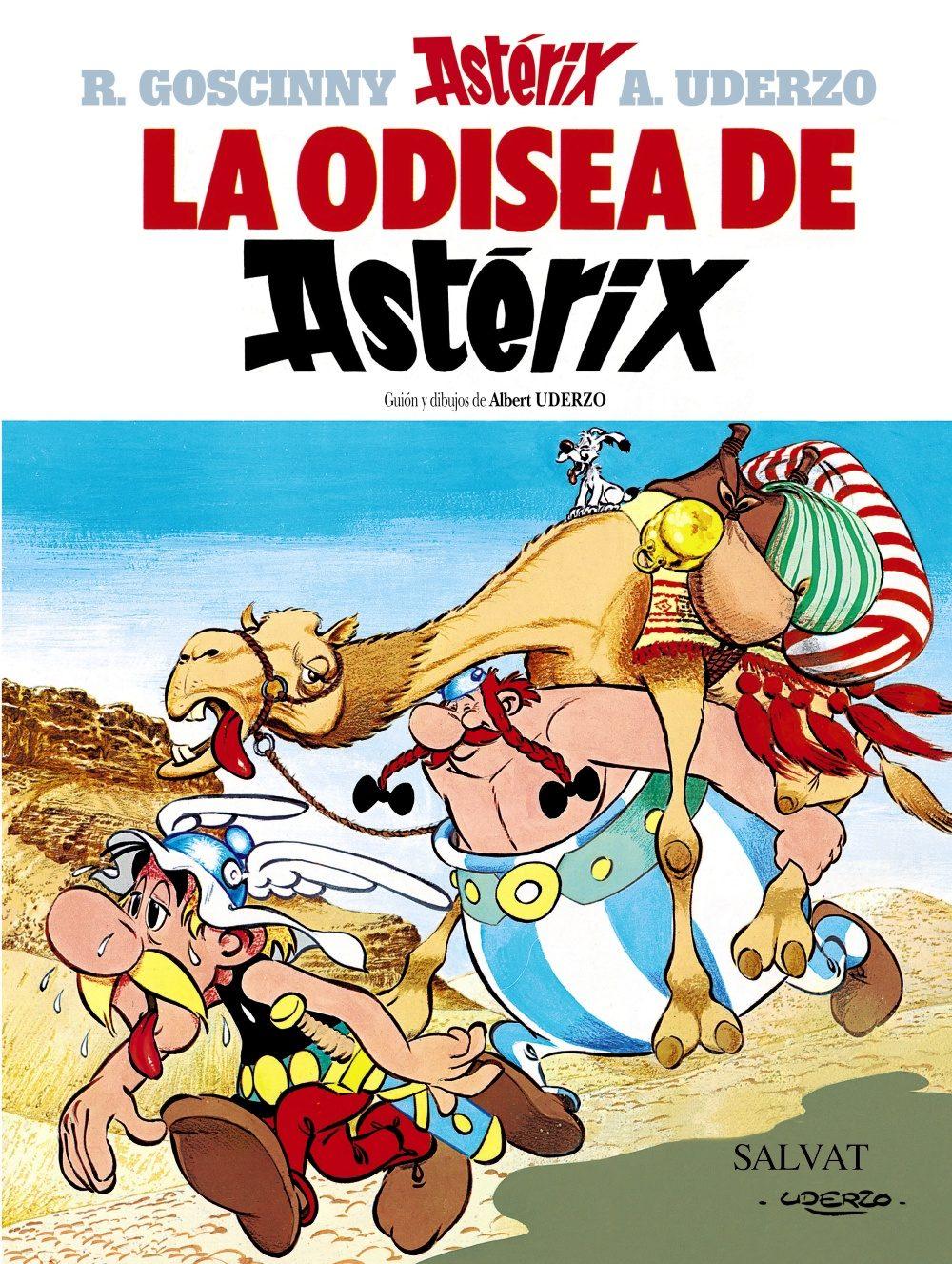 La Odisea de Astérix,René Goscinny, Albert Uderzo,Salvat  tienda de comics en México distrito federal, venta de comics en México df