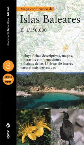 Mapa Ecoturistico Islas Baleares 1/150000 (ed. Bilingüe Castellan O-ingles) por Vv.aa. Gratis