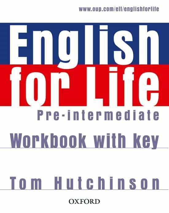 english for life pre-intermediate workbook with key-9780194307635