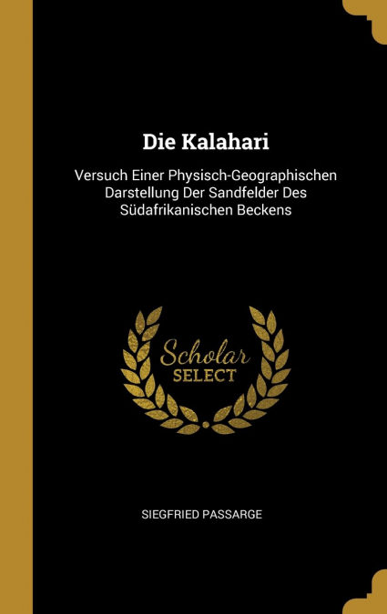 Die Kalahari PDF Descargar Gratis