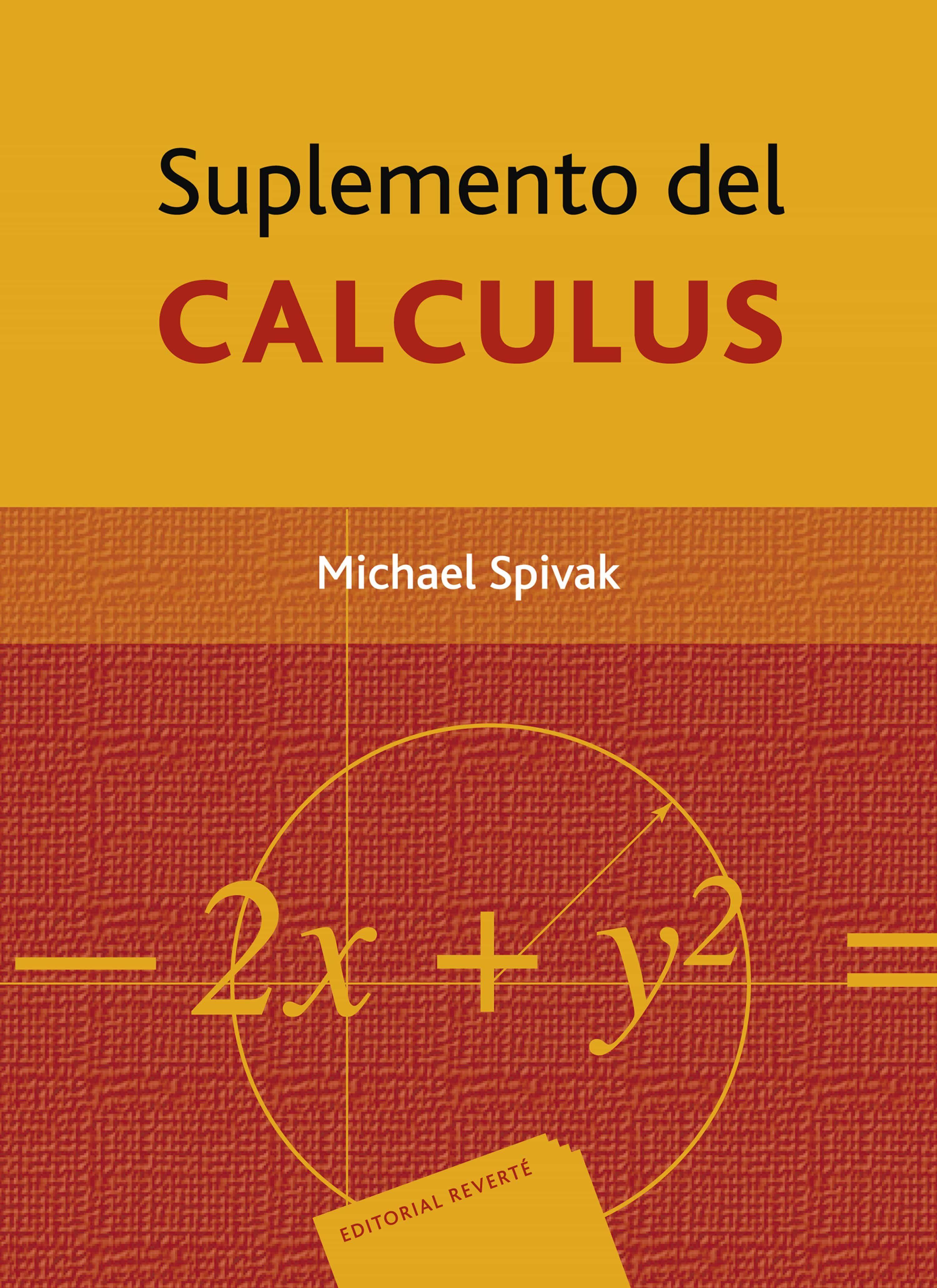 Suplemento Del Calculus por Michael Spivak