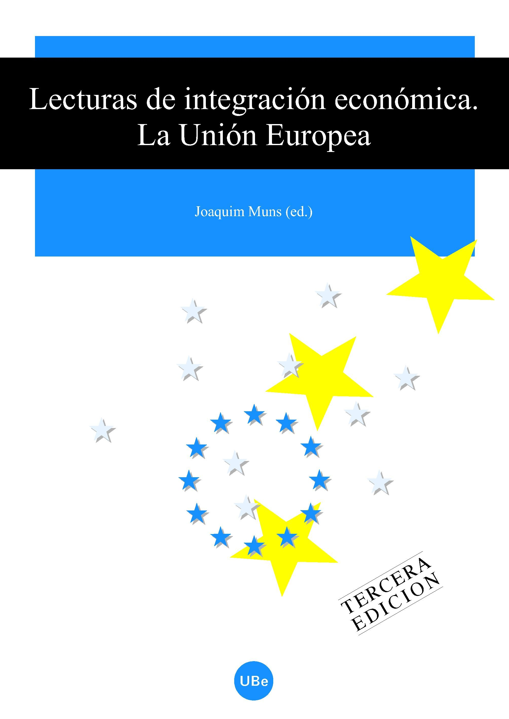 Lecturas De Integracion Economica: La Union Europea por Joaquim (ed.) Muns epub