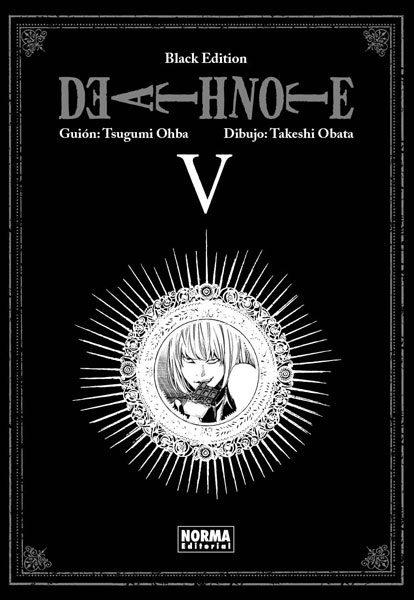 death note black edition 5 (de 6)-tsugumi ohba-9788467912135