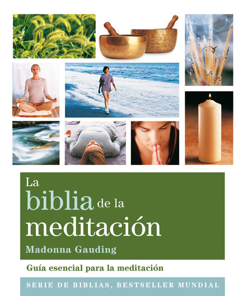 la biblia de la meditación-madonna gauding-9788484454335