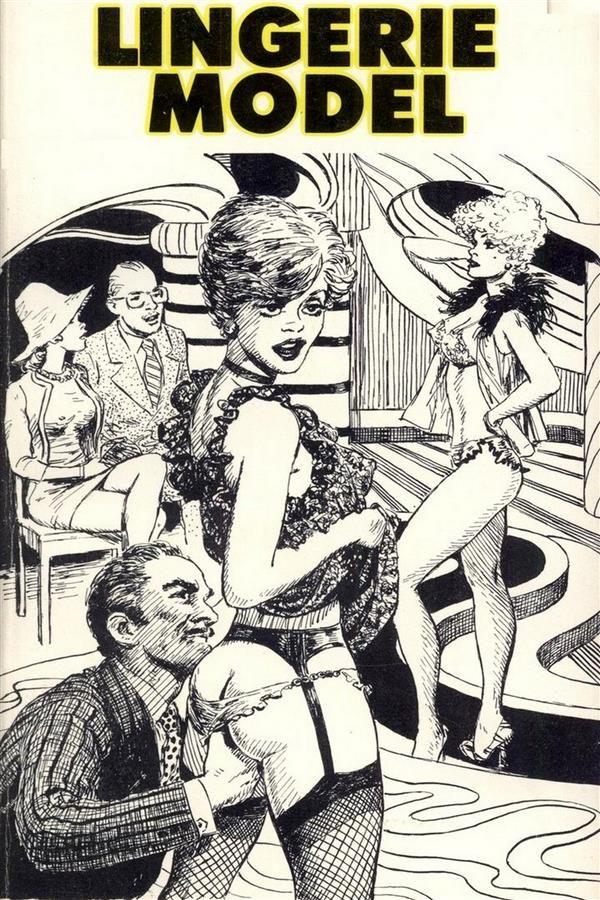 lingerie model - erotic novel (ebook)-9788827538135