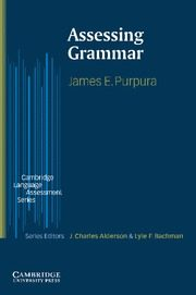 Assesing Grammar por James E. Purpura epub