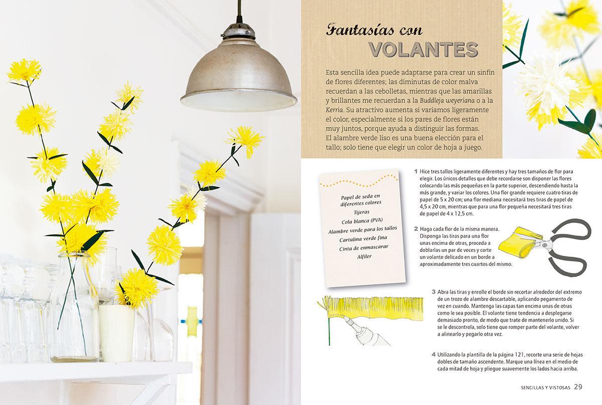 Flores De Papel 35 Bonitos Proyectos Paso A Paso Denise Whichello