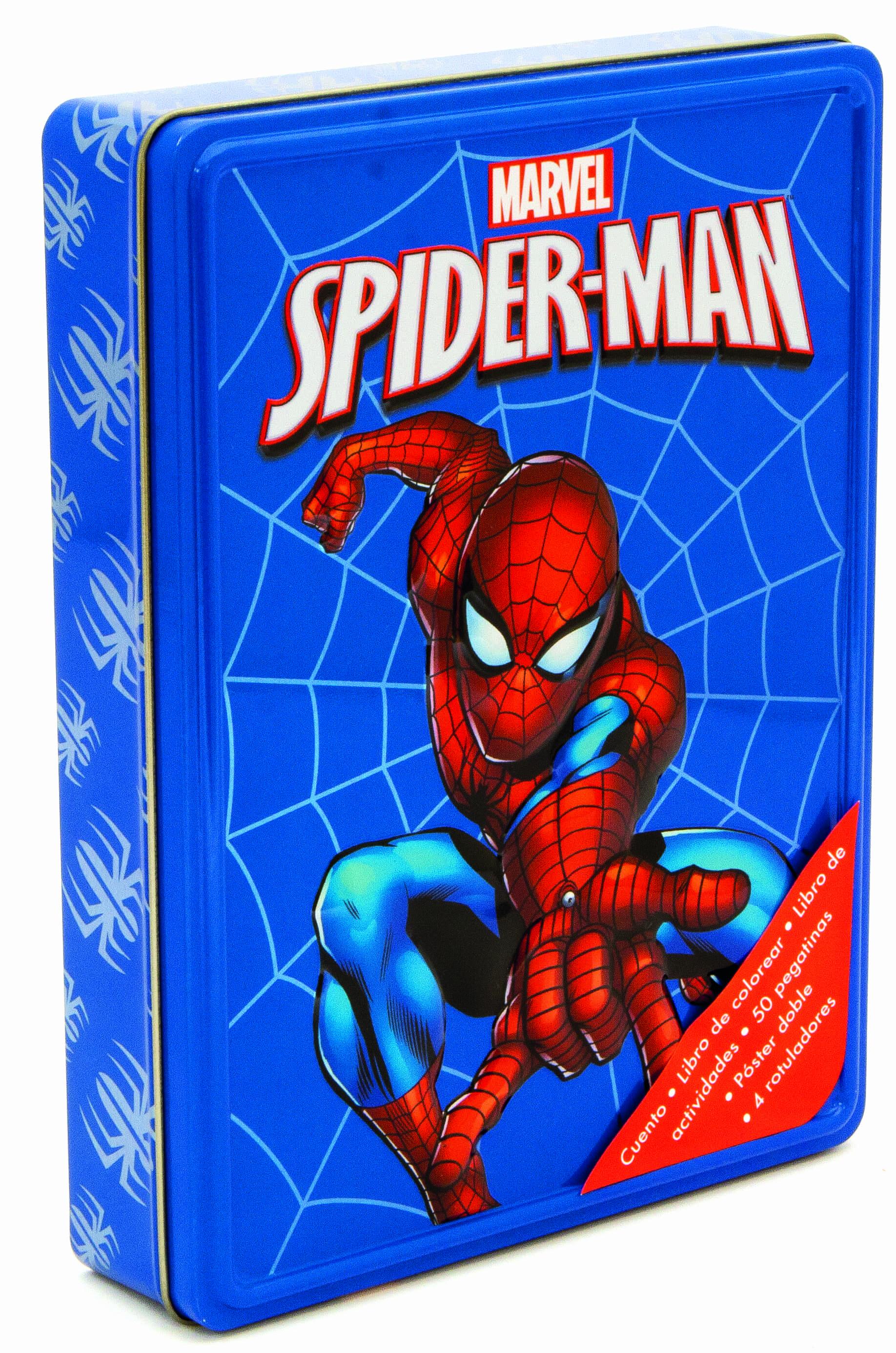 SPIDERMAN (CAJA METALICA) | VV.AA. | Comprar libro 9788415343745