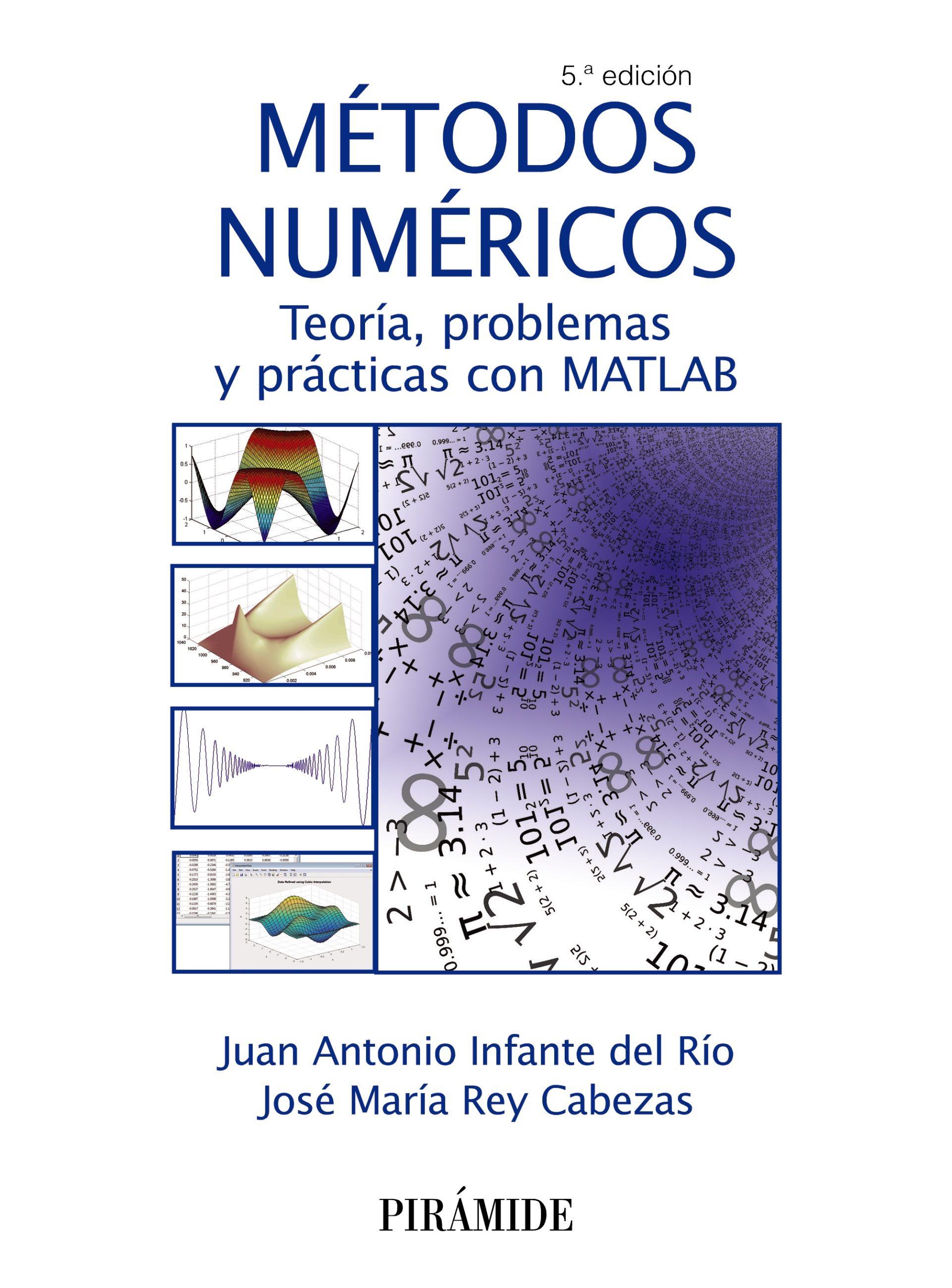 Métodos Numéricos   por Juan Antonio Infante Del Rio, Jose Maria Rey Cabezas