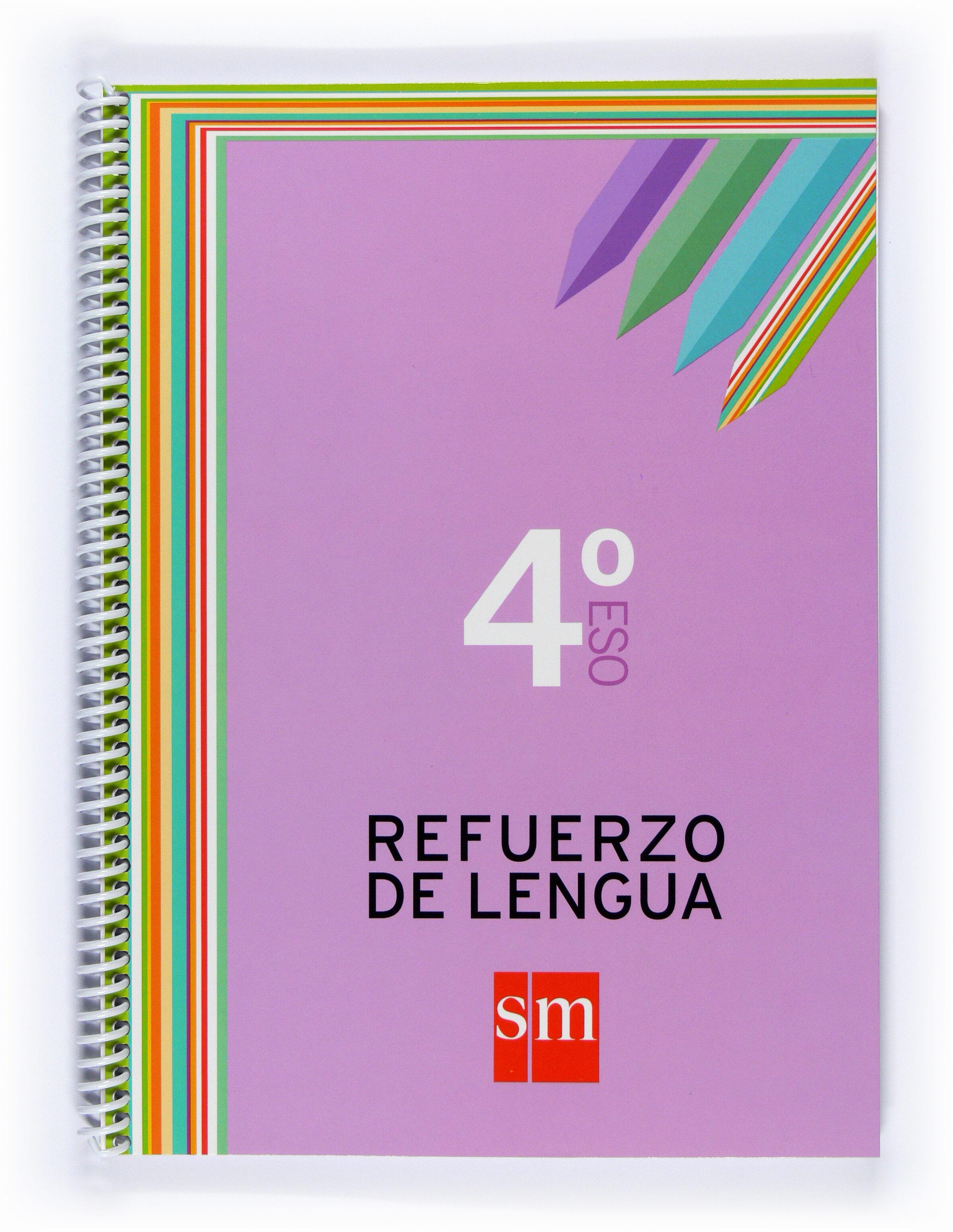 Cuaderno Refuerzo De Lengua 4º Eso por Vv.aa.