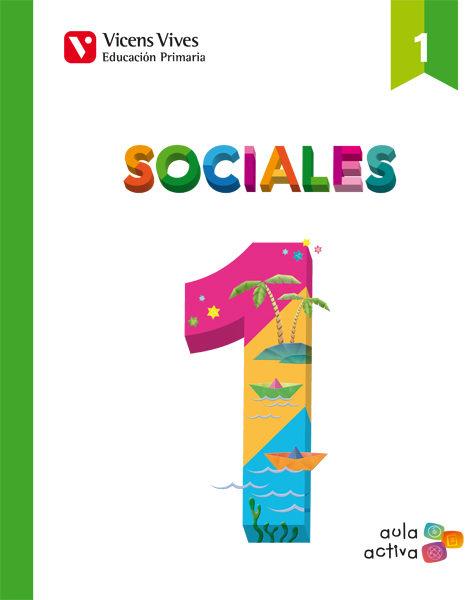 Sociales 1 (aula Activa) Primero De Primaria por Vv.aa. epub
