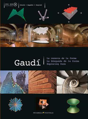 Gaudi: La Recerca De La Forma/la Busqueda De La Forma/exploring Form (cd-rom+dvd) por Vv.aa.