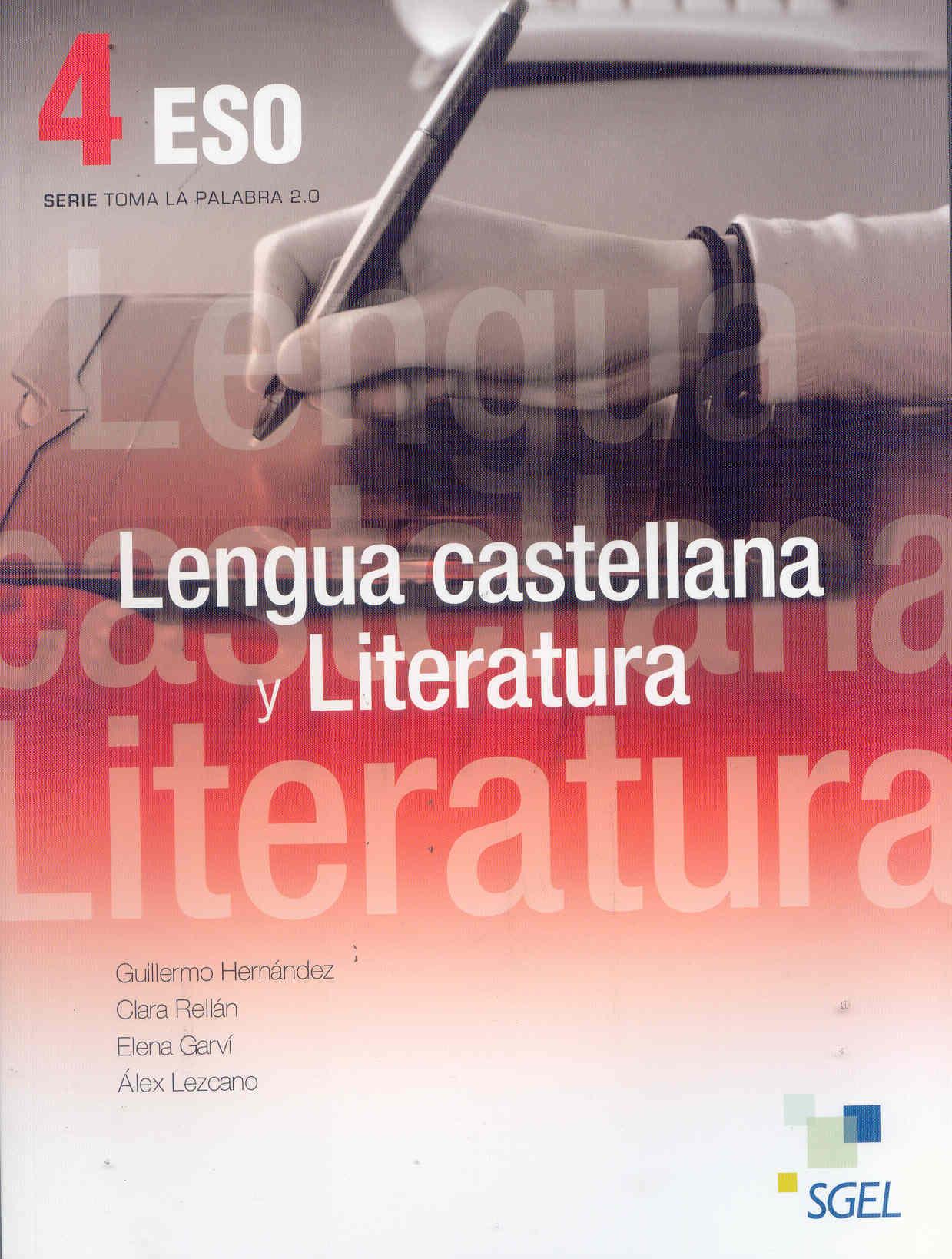 descargar LENGUA CASTELLANA Y LITERATURA 4 ESO pdf, ebook