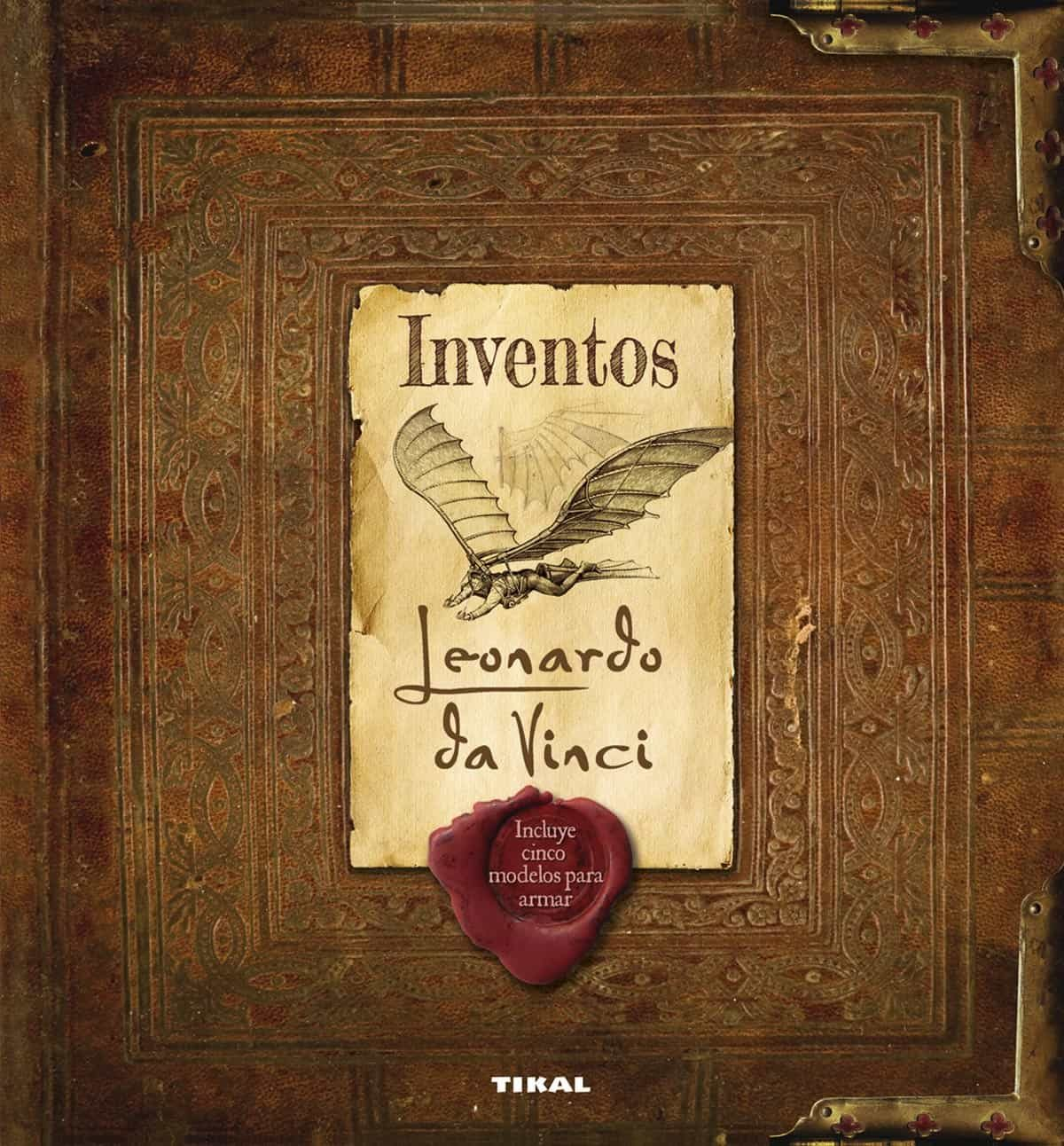 inventos leonardo da vinci libro