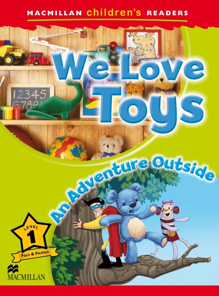 macmillan childern´s readers: 1 we love toys-9780230443655