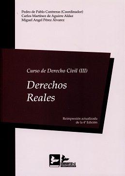 curso de derecho civil, iii: derechos reales-pedro de pablo contreras-9788415276555