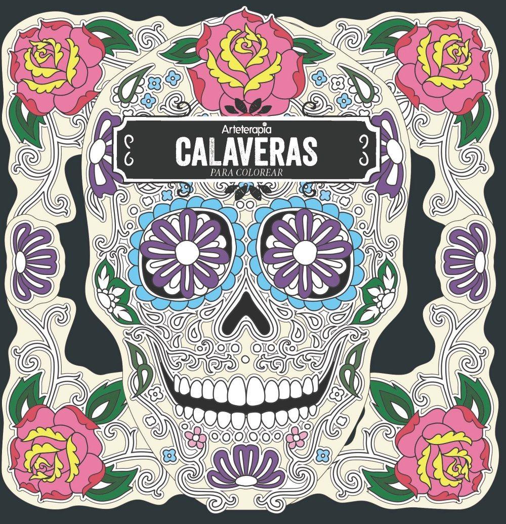ARTETERAPIA: CALAVERAS PARA COLOREAR | CHRISTOPHE-ALEXIS PEREZ ...
