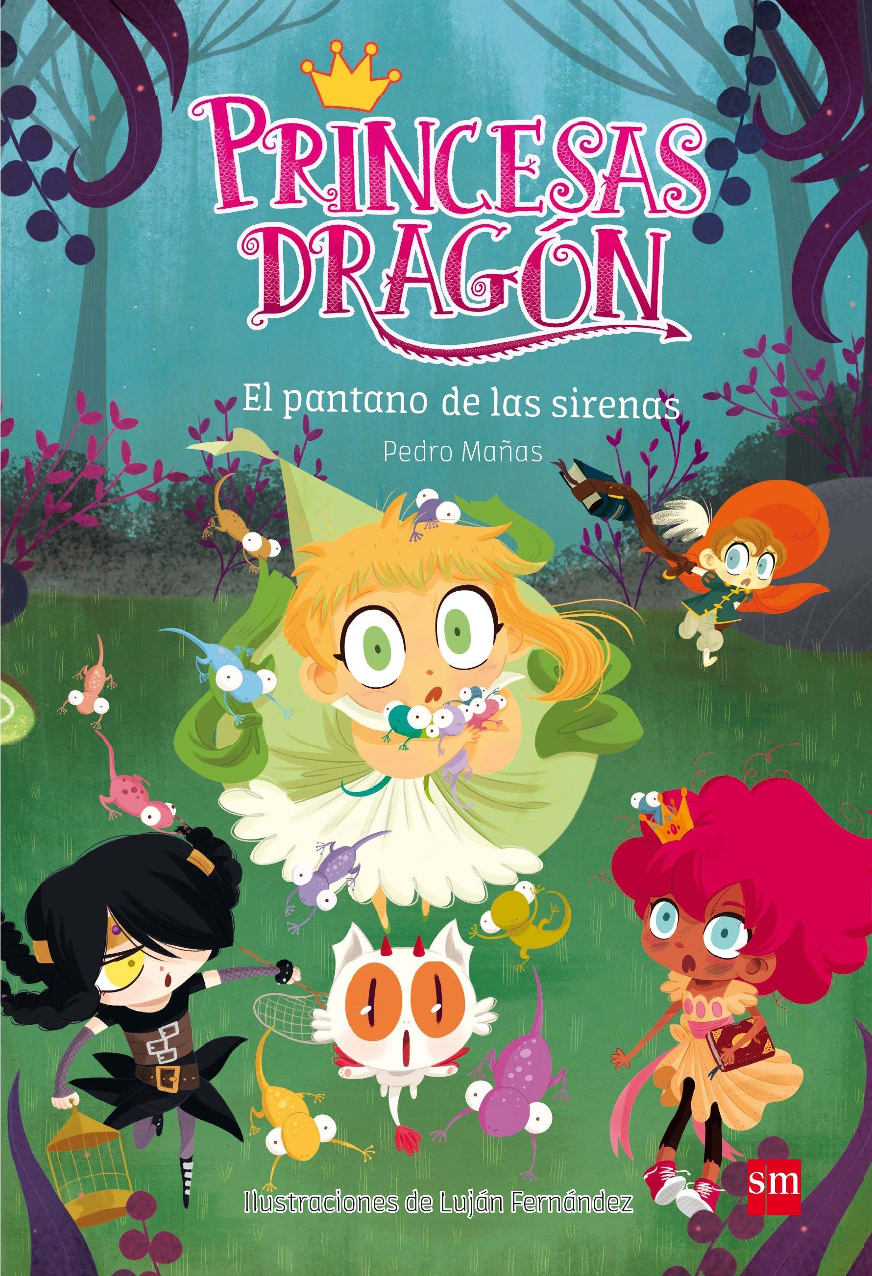 princesas dragon 2:el pantano de las sirenas-pedro mañas romero-9788467590555