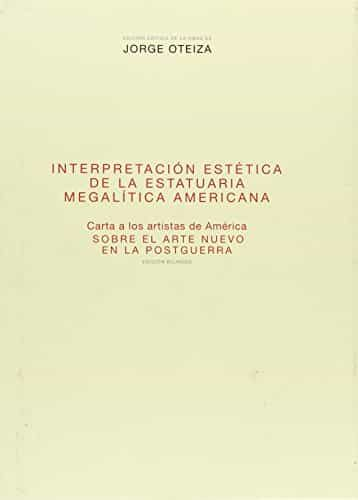 Interpretacion Estetica De La Estatuaria Megalitica Americana por Maria Teresa Muñoz epub
