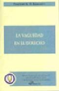 La Vaguedad En El Derecho por Timothy Endicott epub