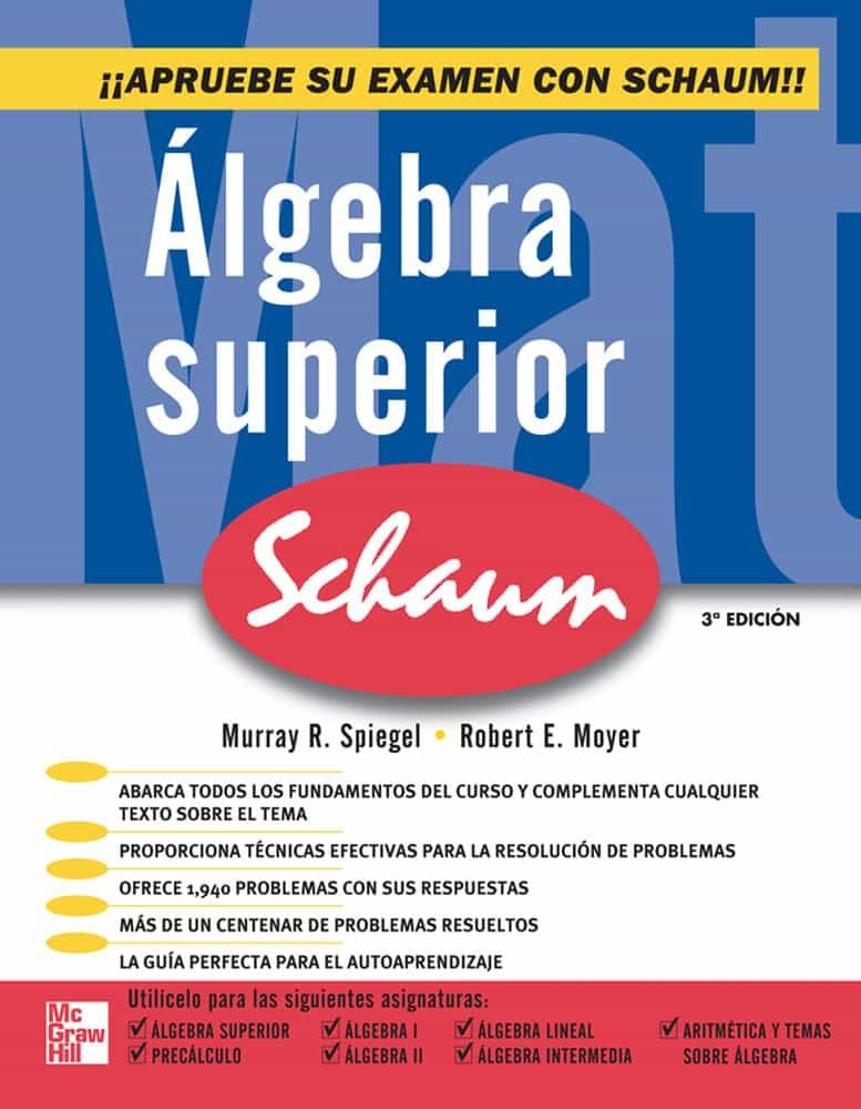 Algebra Superior por Murray Spigel epub
