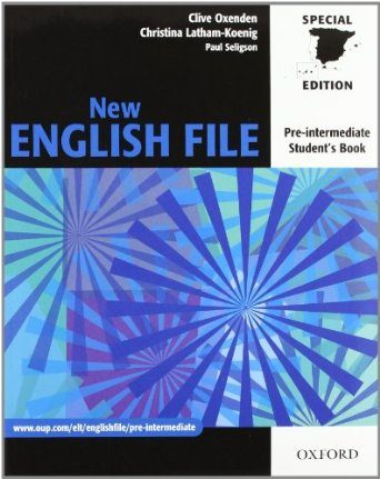 New english file pre intermediate book download