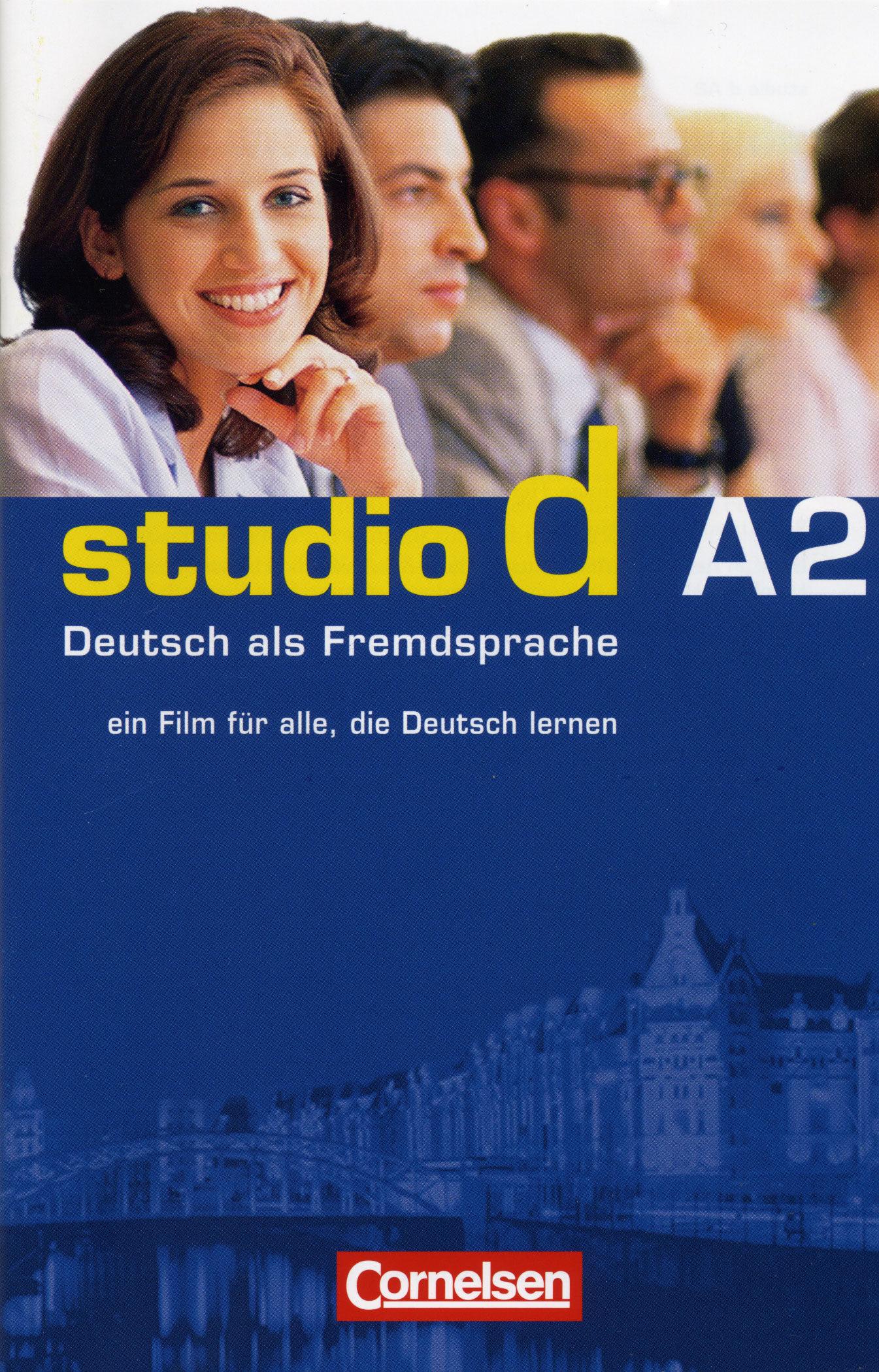 Studio D A2: Deutsch Als Fremsprache (dvd) por Vv.aa.