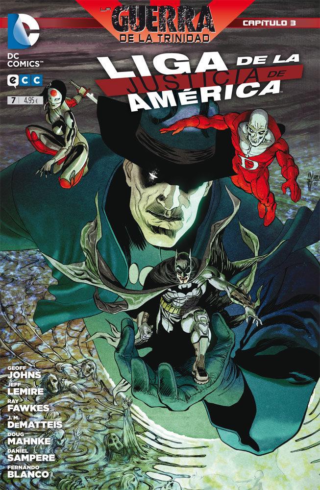 Liga De La Justicia De America Nº 7 por Geoff Johns;                                                                                    Jeff Lemire epub
