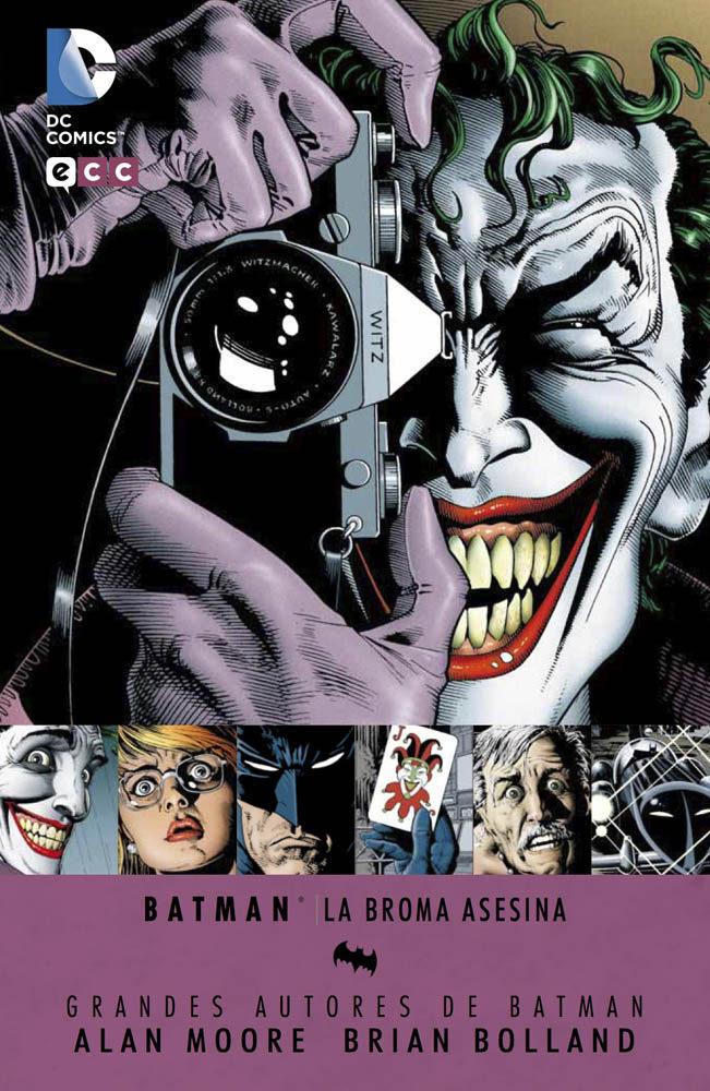 La Broma Asesina (7ª Ed.) por Alan Moore;                                                                                    Brian Bolland